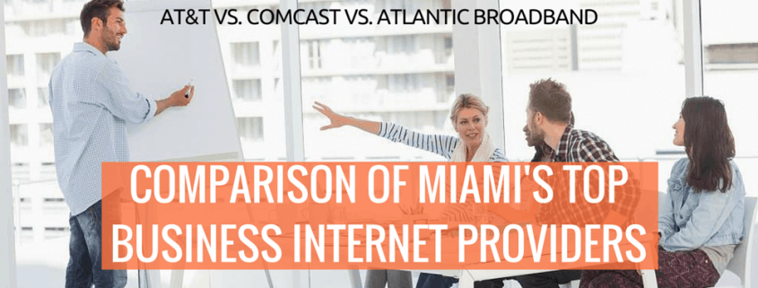 comparison of Miami's top business internet providers