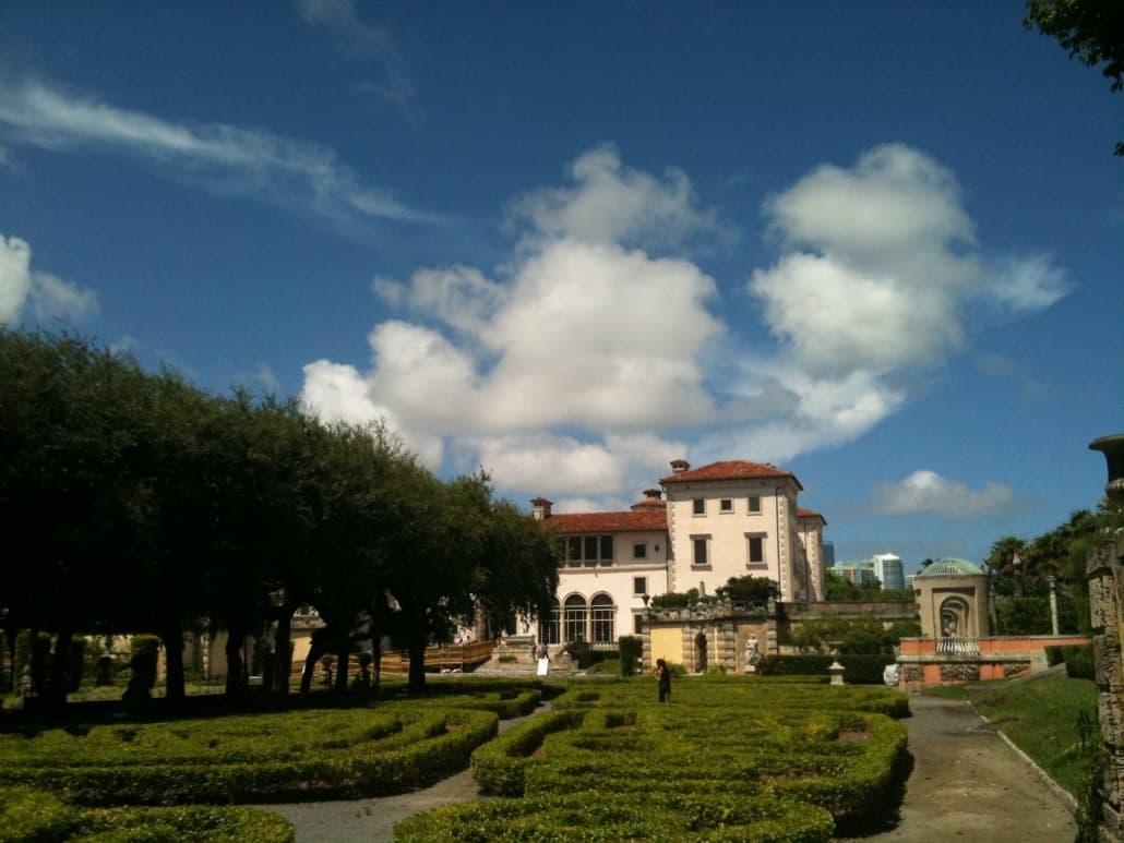 Villa Vizcaya Gardens