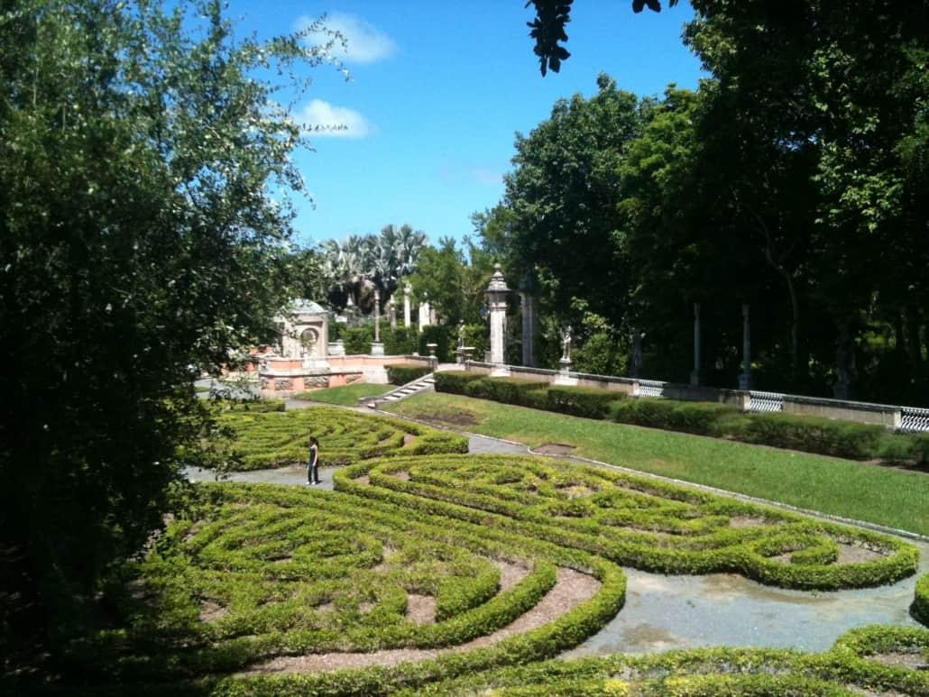 Villa Vizcaya Gardens 2